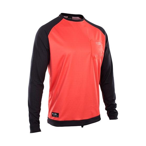 ION 2021 - Wetshirt Męski LS - red/black