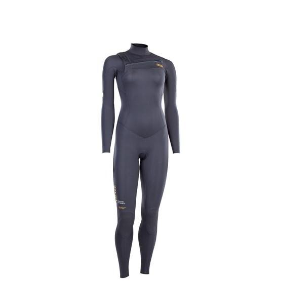 ION 2021 - Wetsuit BS - Amaze Core Semidry 3/2 FZ DL - steel gray