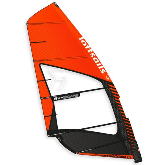 LOFTSAILS Żagiel Windsurfingowy SKYSCAPE 2018 [DEDYKOWANY DO FOILA]