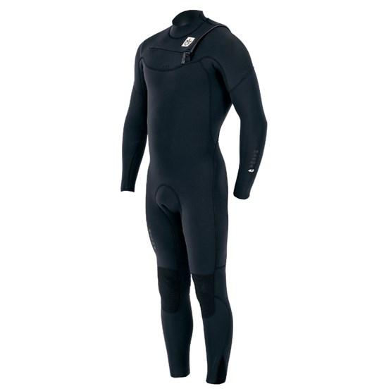 MANERA Mens wetsuit Magma FZ 4/3mm Black