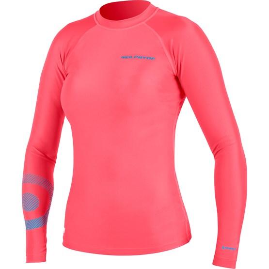 NEILPRYDE Rashguard Serene L/S C2 Coral