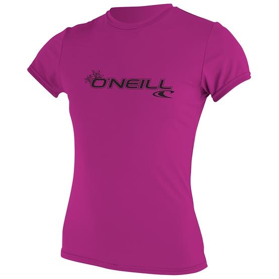 O'NEILL Womens Wetsuit BASIC SKINS S/S SUN SHIRT 2019