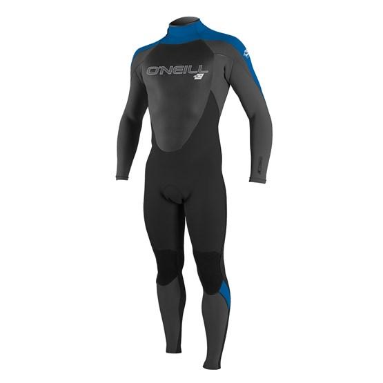O'NEILL Mens wetsuit Epic 4/3 Back Zip Full BLACK/GRAPH/OCEAN