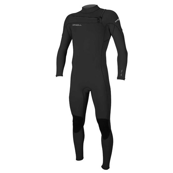O'NEILL Mens wetsuit Hammer 3/2 Chest Zip Full BLACK