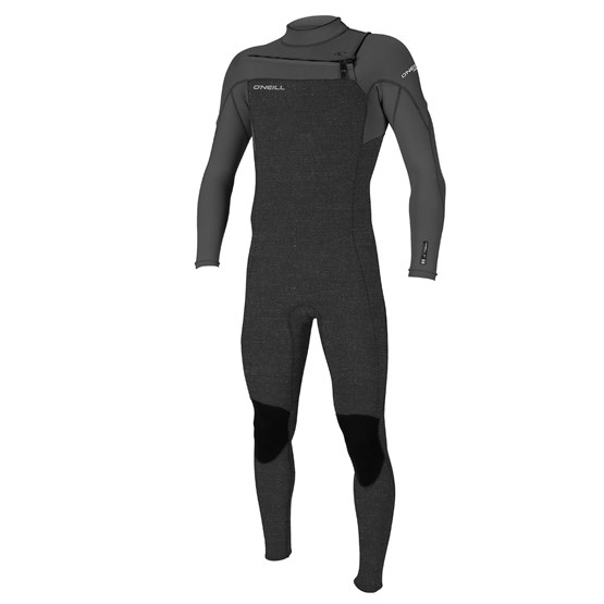 O'NEILL Mens wetsuit Hammer 3/2 Chest Zip Full ACIDWASH/SMOKE