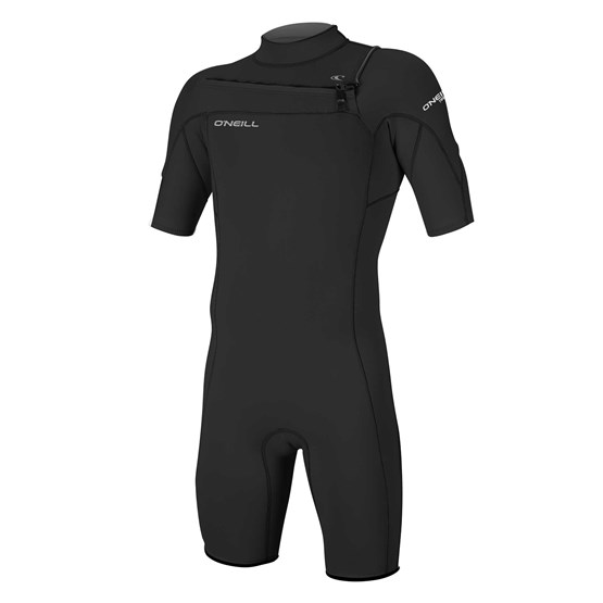O'NEILL Mens wetsuit Hammer 2mm Chest Zip S/S Spring BLACK