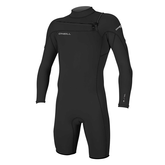 O'NEILL Mens wetsuit Hammer 2mm Chest Zip L/S Spring BLACK