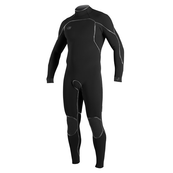 O'NEILL Mens wetsuit Psycho One 4/3 Back Zip Full BLACK
