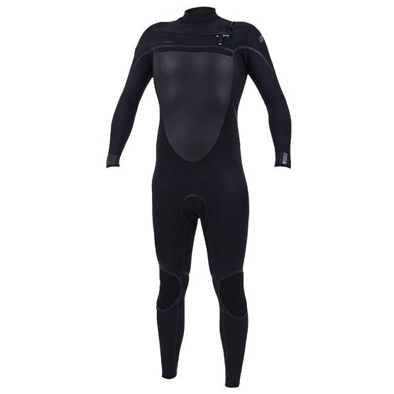 O'NEILL Mens wetsuit Psycho Tech 3/2 Chest Zip Full BLACK