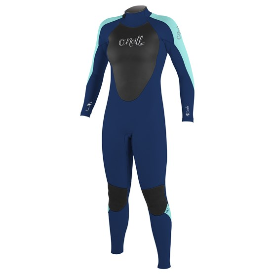 O'NEILL Womens wetsuit Epic 4/3 Back Zip Full NAVY/NAVY/LTAQUA