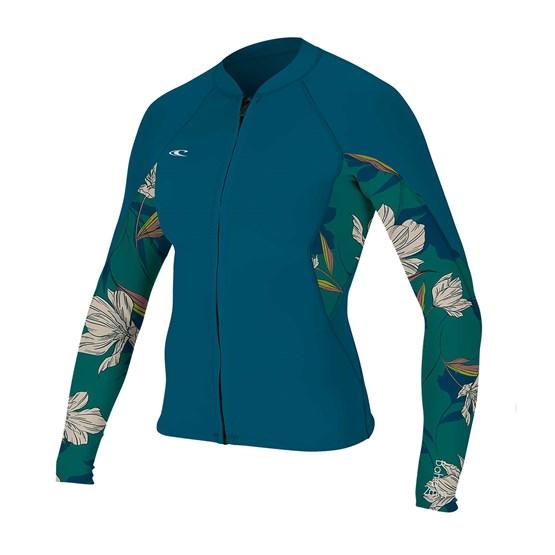 O'NEILL Neoprene jacket Bahia 1/0.5mm Full-Zip FRNAVY/BRIDGET/FRNAVY