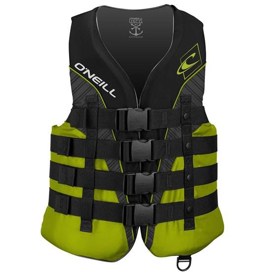 O'NEILL Buoyancy vest Superlite 50 ISO BLACK/LIME/SMOKE