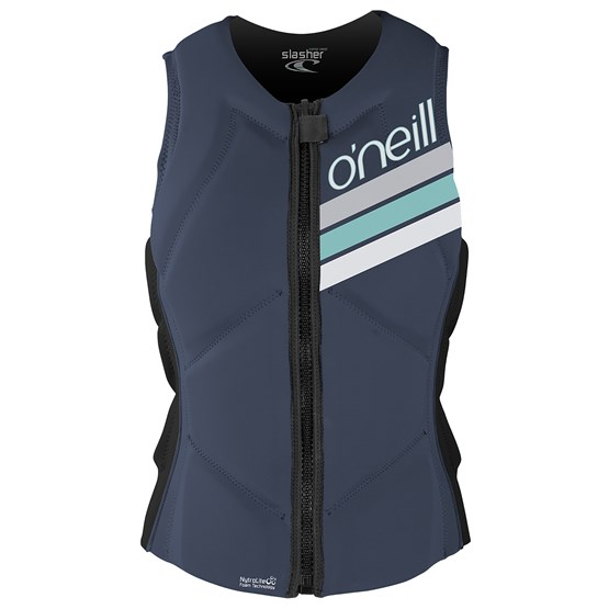 O'NEILL Womens protection vest Slasher Comp MIST/GRAPH