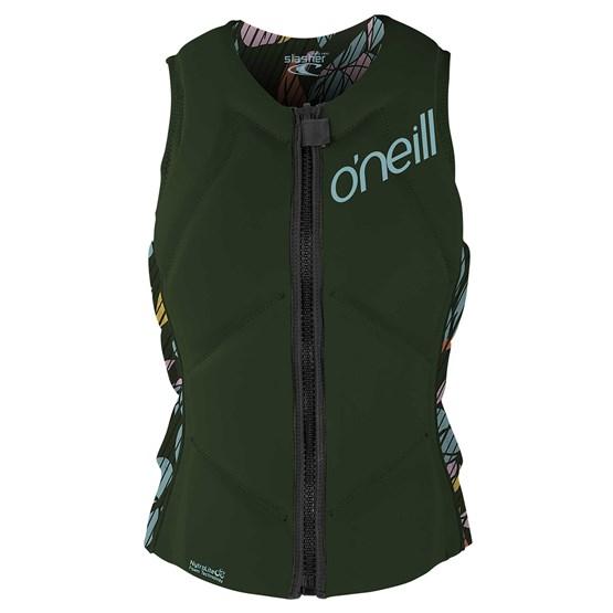 O'NEILL Womens protection vest Slasher Comp DARKOLIVE/BAYLEN