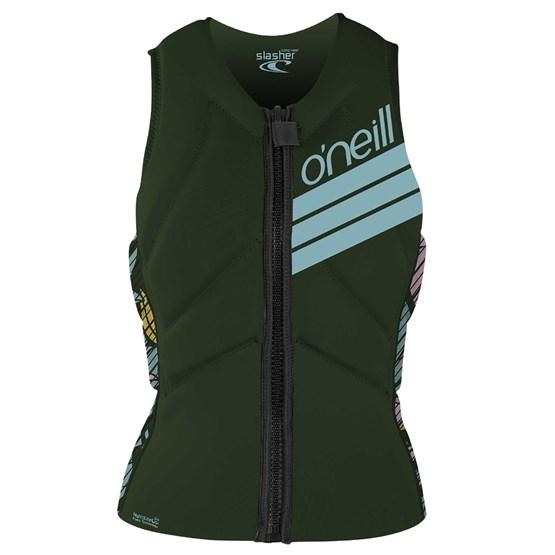 O'NEILL Womens protection vest Slasher Kite DARKOLIVE/BAYLEN