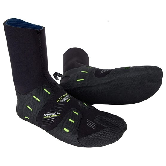 O'NEILL Neoprene boots Mutant 6/5/4mm IST BLACK/GRAPHITE