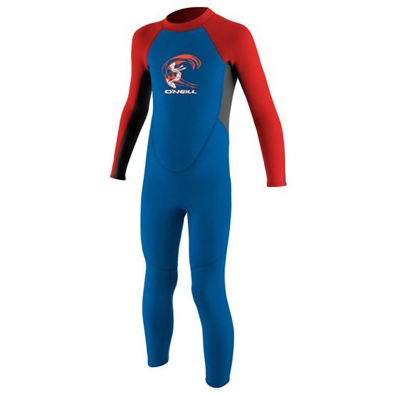 O'NEILL Kids wetsuit Reactor-2 2mm Back Zip Full - Boys OCEAN/GRAPH/RED