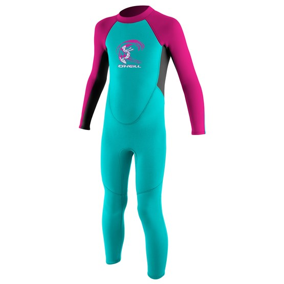 O'NEILL Kids wetsuit Reactor-2 2mm Back Zip Full - Girls LTAQUA/GRAPH/BERRY