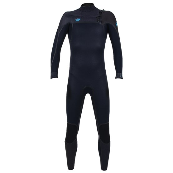 O'NEILL Youth wetsuit Psycho One 4/3 Chest Zip Full ABYSS/ACIDWASH/RAVEN