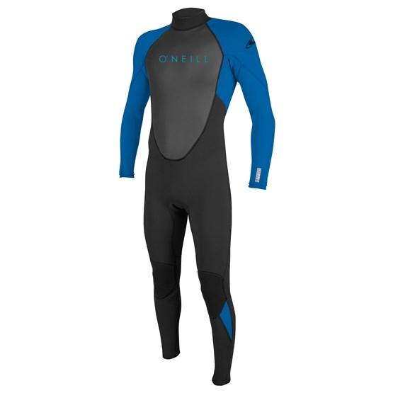 O'NEILL Youth wetsuit Reactor-2 3/2 Back Zip Full BLACK/OCEAN
