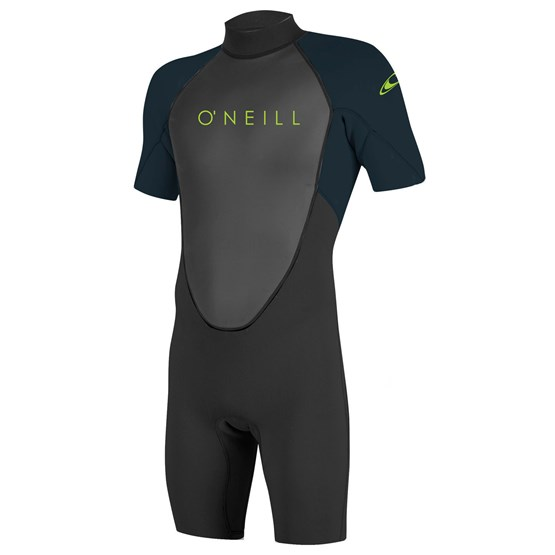 O'NEILL Youth wetsuit Reactor-2 2mm Back Zip S/S Spring BLACK/SLATE