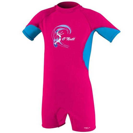 O'NEILL Kids suit O'Zone UV Spring - Girls WTRMLN/SKY/WHITE
