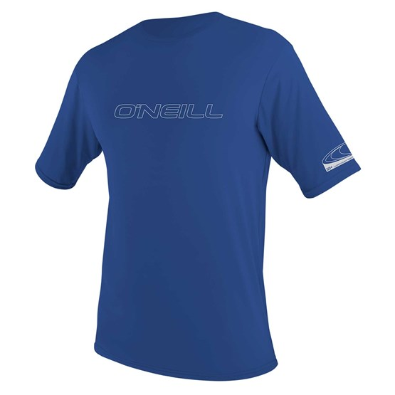 O'NEILL Mens rashguard Basic Skins S/S Sun Shirt PACIFIC