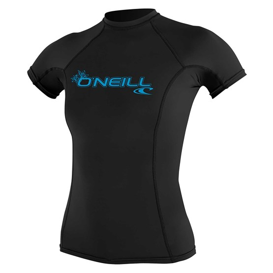 O'NEILL Womens rashguard Basic Skins S/S BLACK