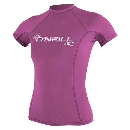 O'NEILL Womens rashguard Basic Skins S/S FOX PINK