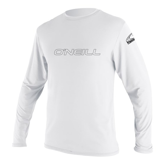 O'NEILL Youth rashguard Basic Skins L/S Sun Shirt WHITE