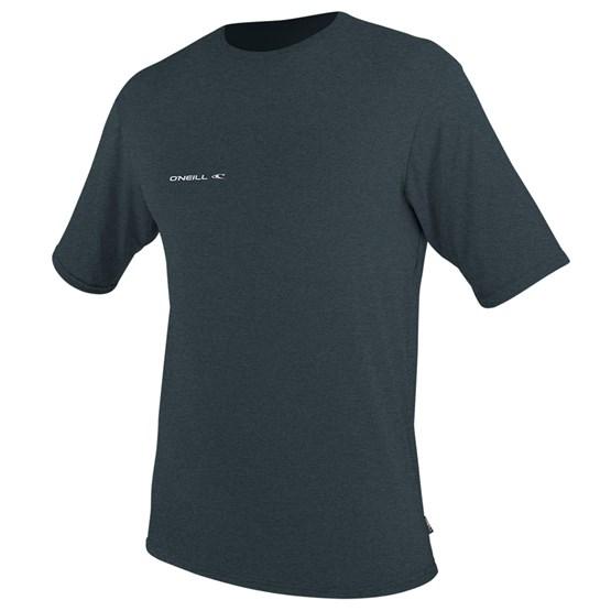 O'NEILL Mens rashguard Hybrid Sun Shirt S/S SLATE