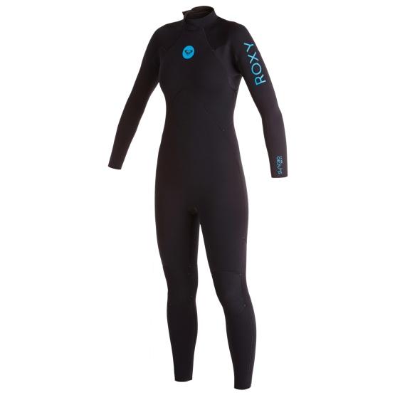 ROXY Girls wetsuit SR 4/3 BZ GBS - Black