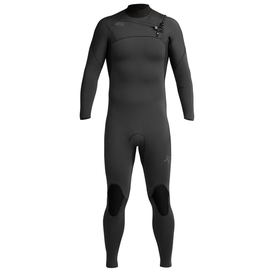 XCEL Mens wetsuit Comp X2 5/4 (chest zip) jet black FW19/20