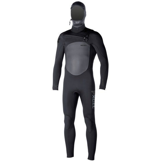 XCEL Mens wetsuit INFINITI X2 HOODED 6/5mm Fall 2016