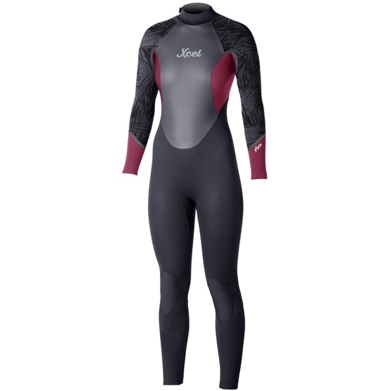 XCEL Womens wetsuit AXIS OS ZIP 5/4mm Fall 2016