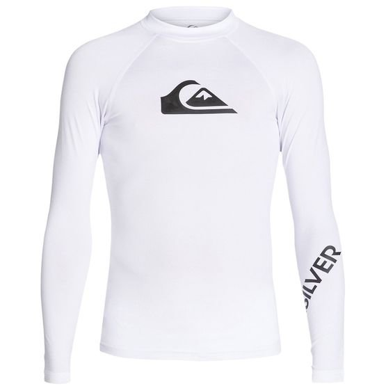 QUIKSILVER Boys rash vest ALL TIME LS