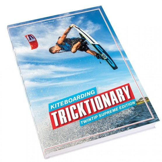 Kiteboarding TRICKTIONARY Book - EN / ES / IT / DE / FR / RU