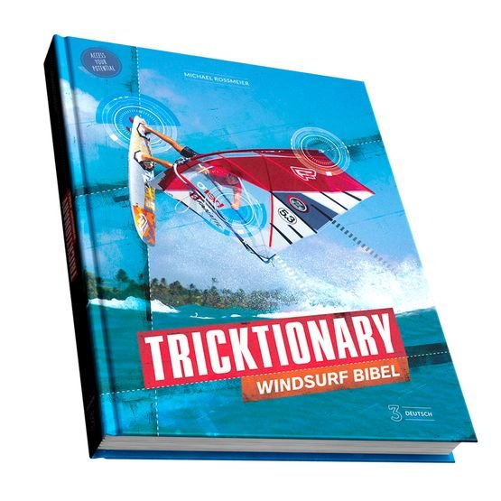 Windsurfing TRICKTIONARY Bible 3 Book - Guide EN / ES / IT / DE / FR