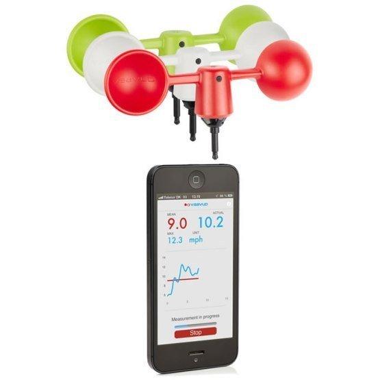 VAAVUD 1.0 Wind Meter for Smartphone