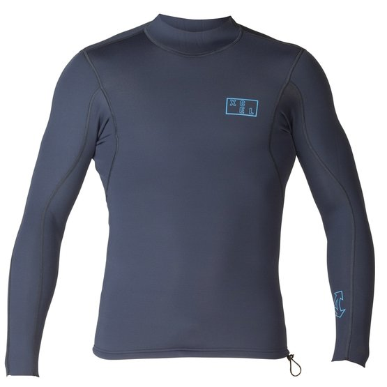XCEL Mens Neoprene Shirt Axis L/S 2/1mm