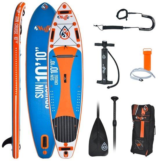 SKIFFO Inflatable SUP Board SUN CRUISE + 10'10