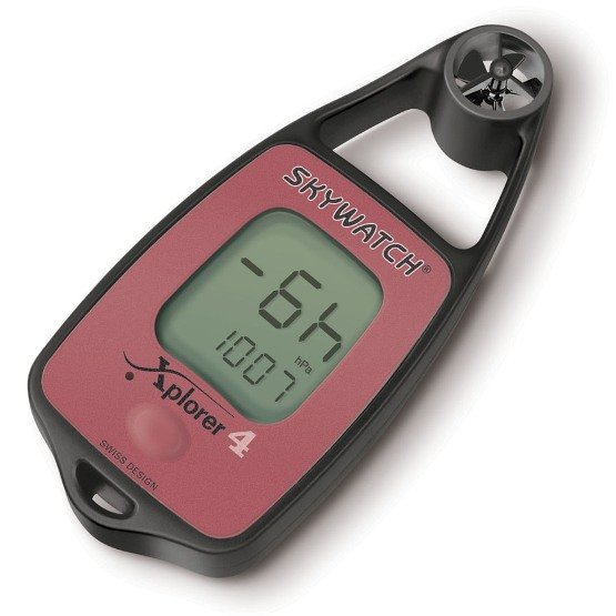 SKYWATCH Xplorer 4 Wind and Thermometer with Compass and Pressure