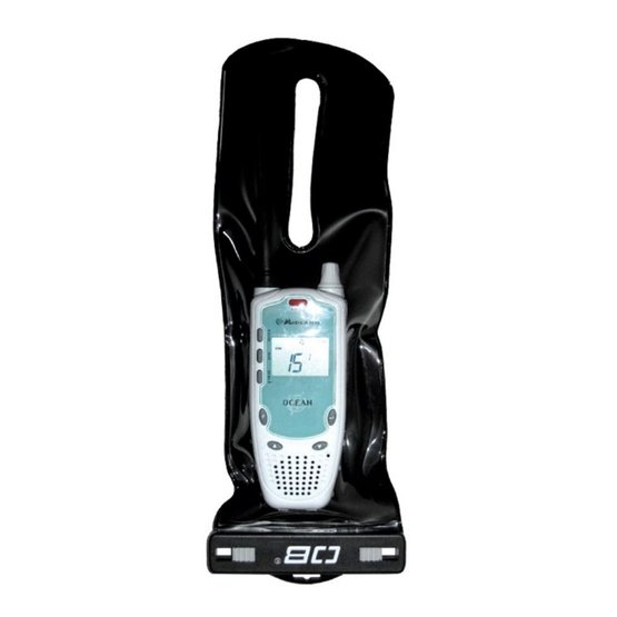 OVERBOARD Wodoszczelny Pokrowiec na Radiotelefon VHF S