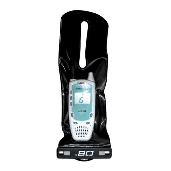 OVERBOARD Waterproof VHF Case large black