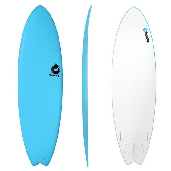 TORQ Surfboard Softboard 6.6 Fish Blue