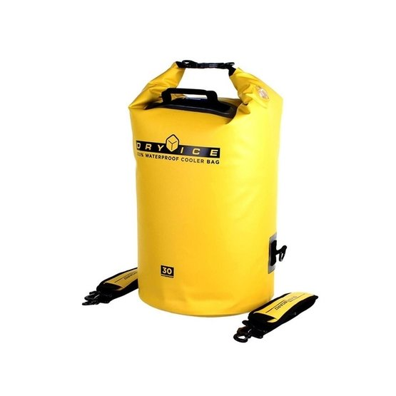 OVERBOARD Dry Ice Cooler Bag 30 Litrów Yellow