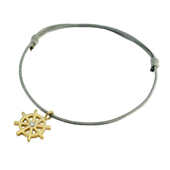 Silver+Surf Jewellery S steering wheel gold
