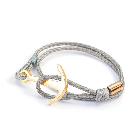 Silver+Surf Bracelet L Ancor Pure gold plated
