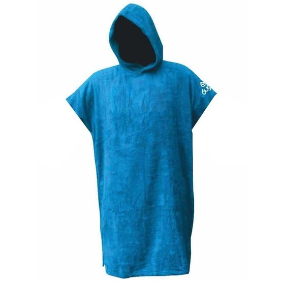 BUGZ Frottee Change Robe Surf Poncho Large blue