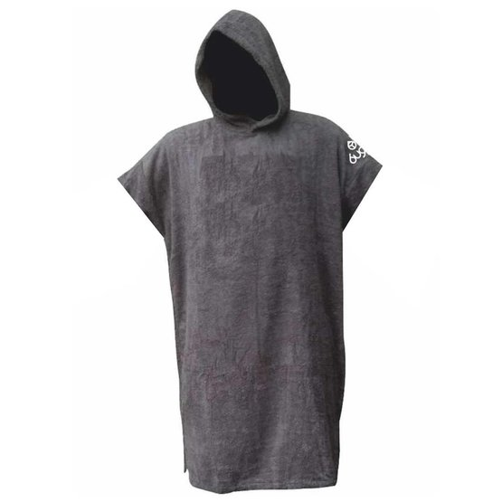 BUGZ Frottee Change Robe Surf Poncho Large grey